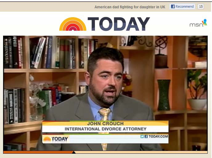 John Crouch NBC Today Show
